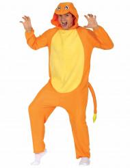 Kostume lille orange gnaver voksen