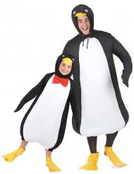 Parkostume pingviner far og søn