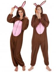 Parkostume brune kaniner