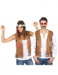 Parkostume hippie veste