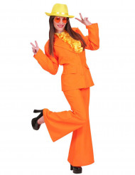 Kostume orange dame