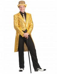 Svalehale jakke i glimmer til mænd