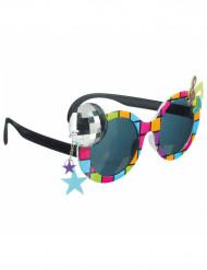 Briller disko flerfarvede til voksne