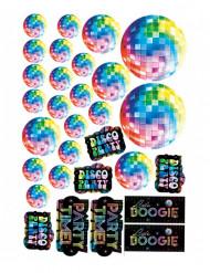 30 disko diskorationer