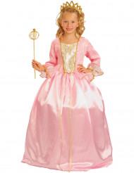 Kostume prinsesse lyserød luksus til piger