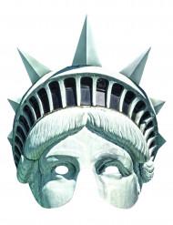 Maske Frihedsgudinde i karton