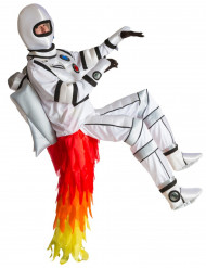Kostume astronaut med raket på ryggen