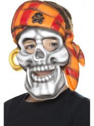 Pirat bandana maske barn