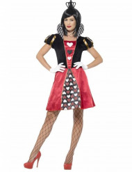 Kostume spillekortdronning dame