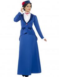 Kostume victoriansk barnepige