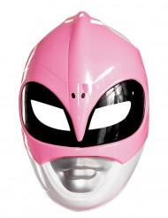 Maske Power Rangers™ lyserød til voksne