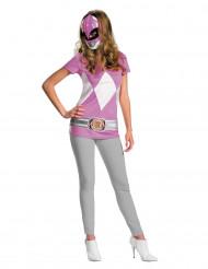 Kostume Power Rangers™ Lyserød til kvinder