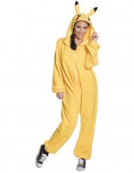 Kostumet Pikachu Pokémon™ til voksne