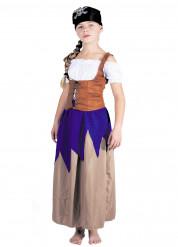Kostume kvindelig pirat til piger