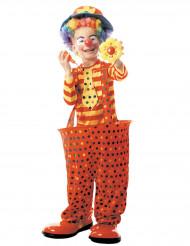 Kostume klovn med plastikring til børn