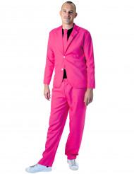Jakkesæt mode neon pink til voksne