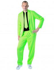 Jakkesæt mode neon grøn til voksne