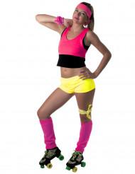 Mini shorts gul neon til kvinder