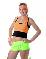 Mini shorts neon grøn til kvinder