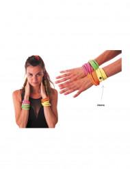 Armbånd fashion neongult til voksne