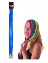Hårtot blå på klips