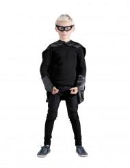 Kit superhelt sort til børn