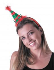 Hårbøjle lille alfehat til voksne jul