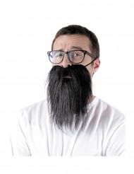 Hipster skæg sort - voksen
