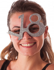 Briller med pailletter 18 år
