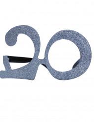 Briller fødselsdag med pailletter 20 år