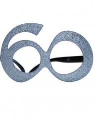 Briller fødselsdag med pailletter 60 år