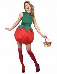 Kostume Jordbærkjole til kvinder