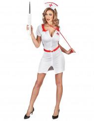 Miss Nurse - Sexet sygeplejerskekostume til kvinder