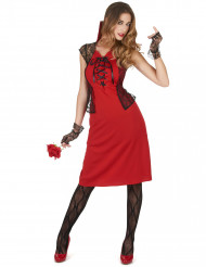 Kostume sexet vampyr til kvinder