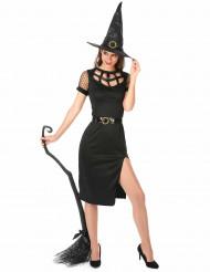 Kostume sexet heks sort til kvinder