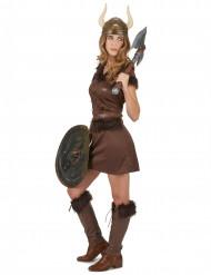 Sejt vikingekostume til kvinder