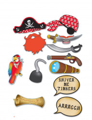 Photobooth kit pirat 12 accessoires