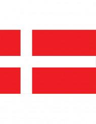 Fan flag Danmark 90 x 150 cm
