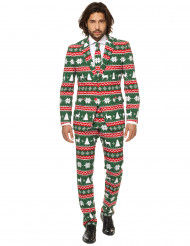Kostume Mr Festive grøn jul Opposuits™
