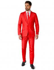 Jakkesæt Mr. Solid rød til mænd Suitmeister™