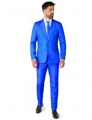 Jakkesæt Mr. Solid blå til mænd Suitmeister™