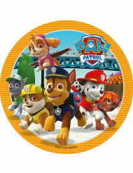 Orange sukkerdekoration Paw Patrol™ 20 cm
