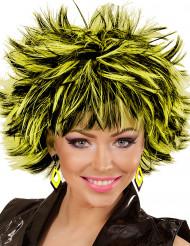 Ørenringe ruder sorte og gule til kvinder