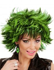 Ørenringe ruder sorte og grønne til kvinder
