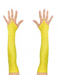 Lange gule ærmer neon til kvinder