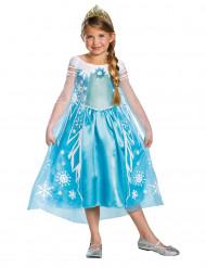 Kostume luksus Elsa fra Frost™ til piger
