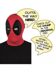 Maske luksus Deadpool™ med talebobler
