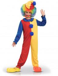 Kostume klovn tofarvet til børn