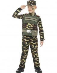 Kostume militær camouflage til drenge