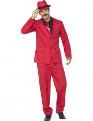 Kostume gangster i rød